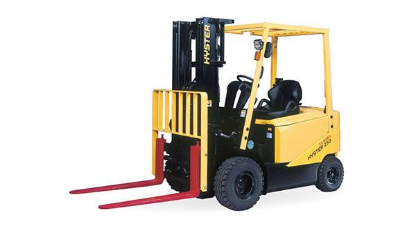 Xe nâng điện HYSTER ngồi lái , Model J1.5-J3.5GX sức nâng 1.5 – 3.5 Tấn